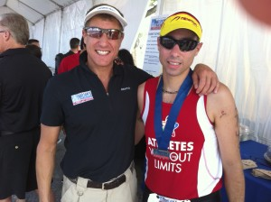 Nations Tri Promotor & Athletes Without Limits Sean